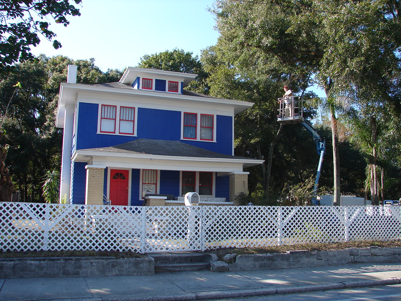 Hildi Santo Tomas Amazing Marvelous Examples Of Red White And Blue Houses